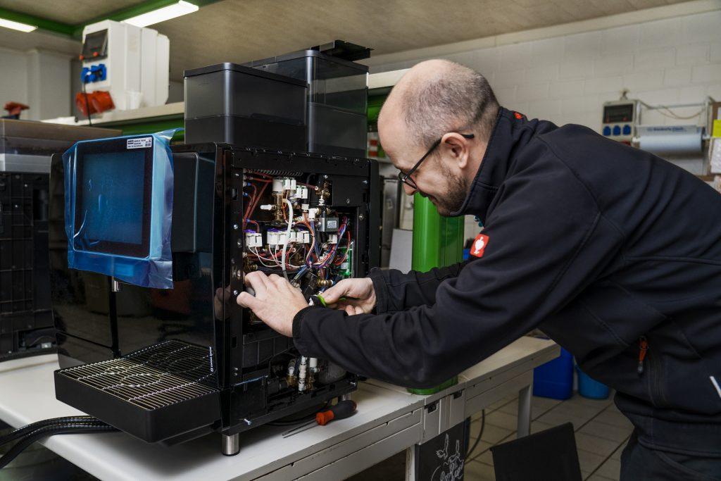 Reparatur und Service Franke Vollautomat